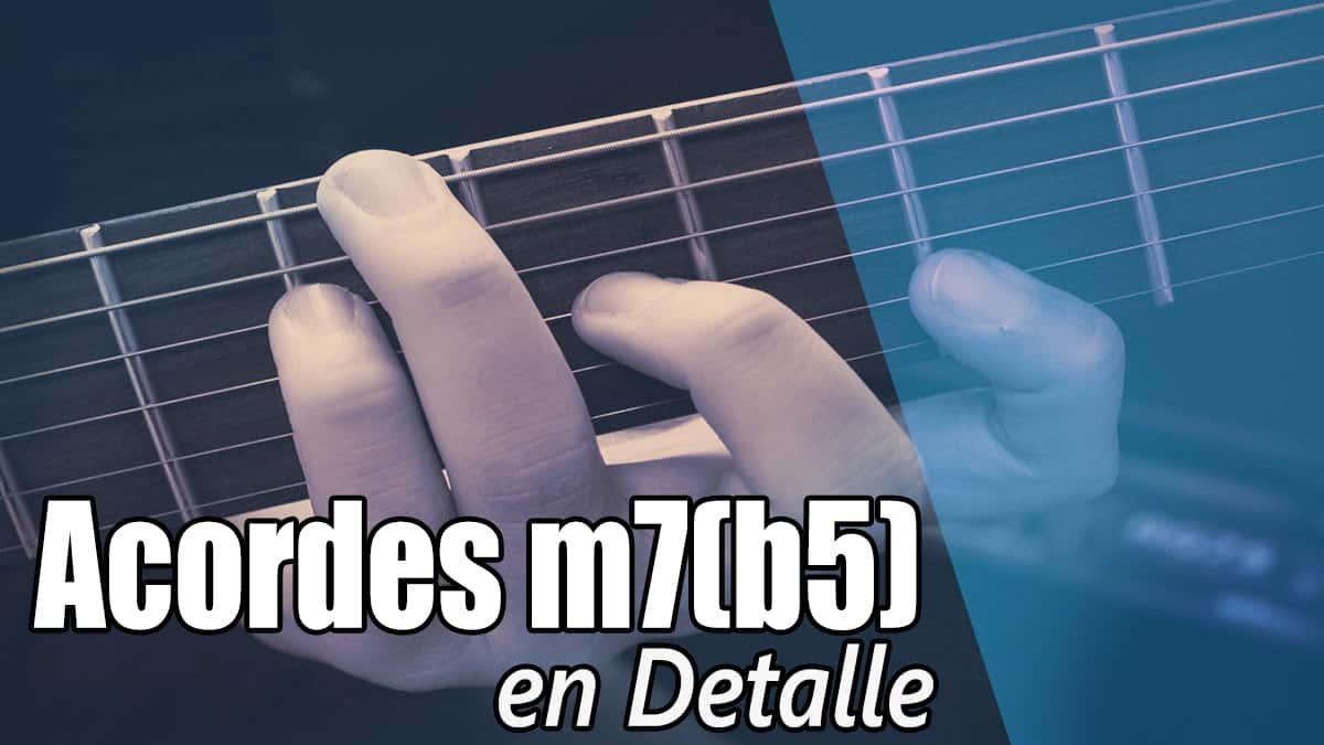 Acordes m7(b5)