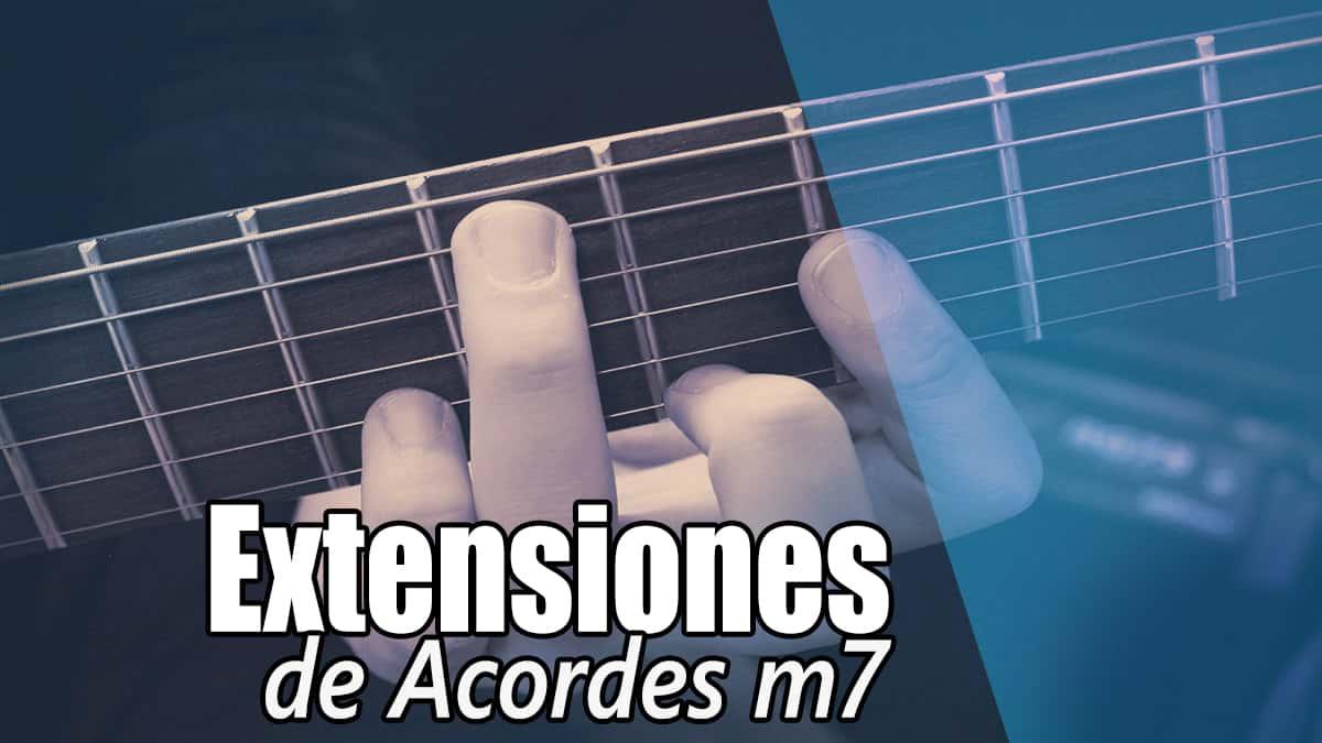 Acordes m7