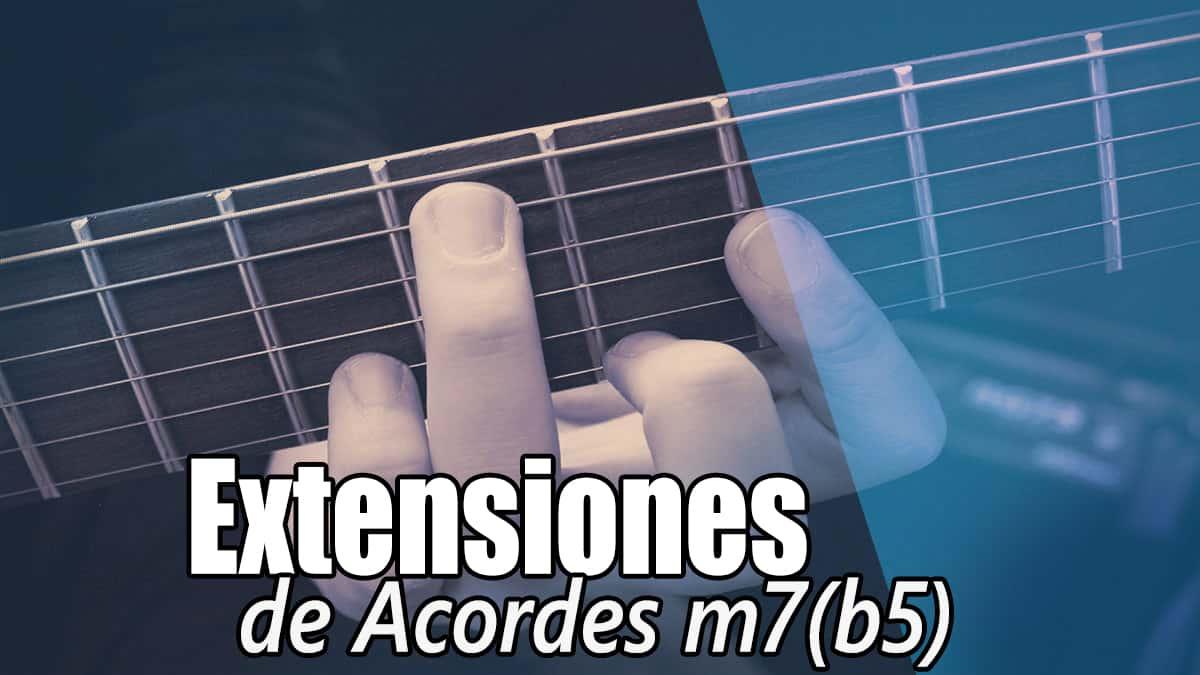 Acordes m7b5